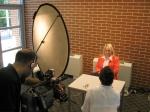 Médiatréning - szimulált televíziós interjú