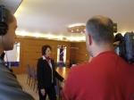 ATV forgatás a Kálvária Hotelben