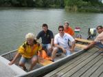 Motorcsónakázás Dunakilitinél a 2012-es Aqua Családi Napon